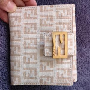 Authentic FENDI compact wallet